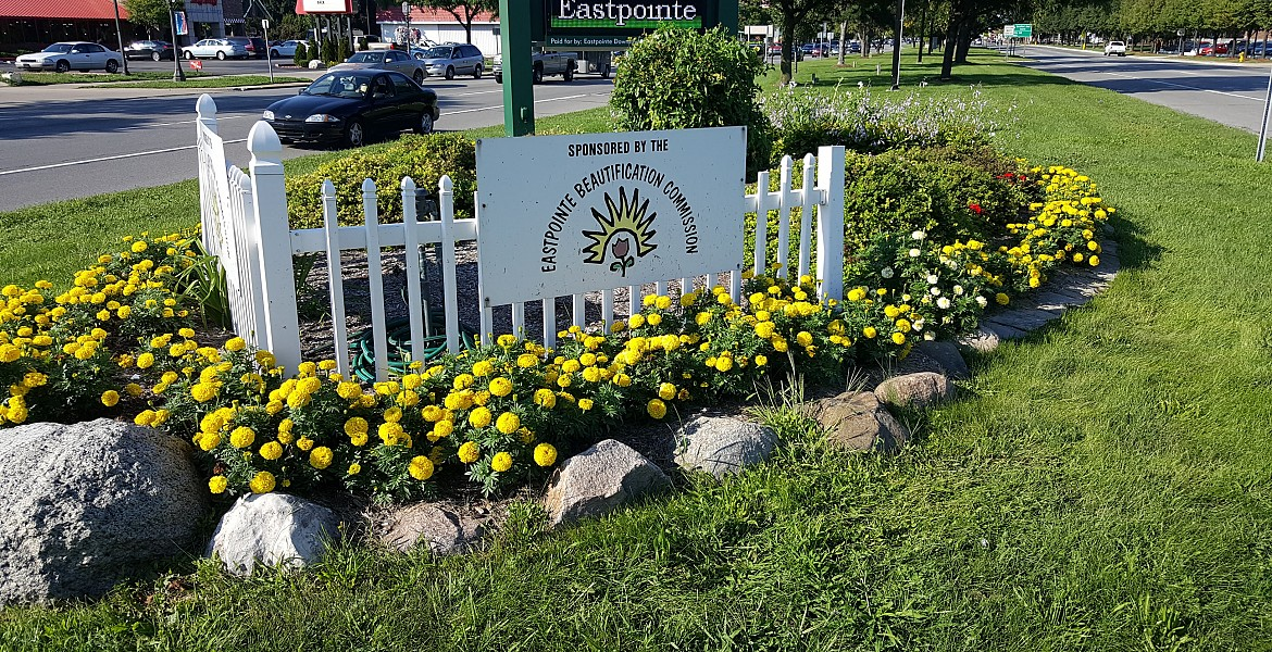 Beautification Commission Flowerbed Again