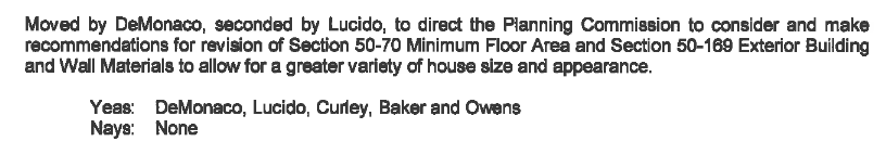 Planning Commission public hearing for container homes 2019 12 17